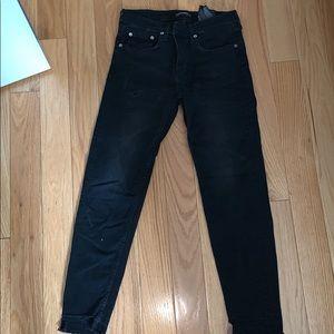 165a3adf Zara Jeans | Slim Boyfriend Malibu Blue Sz 27 4us | Poshmark
